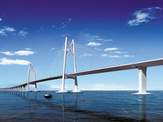 港珠澳大桥-屹立伶仃洋