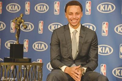 库里获NBA常规赛MVP|赛季|助攻