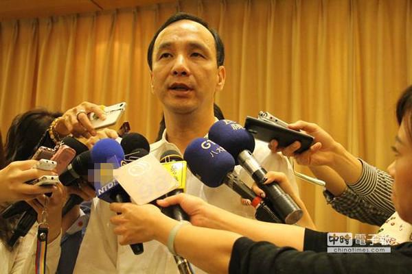 国民党内2016参选人登记领表将截止,朱立伦动向备受关注。(台湾《中时电子报》资料照片)