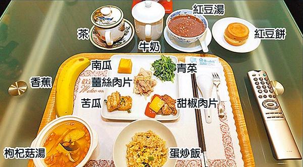 马英九晚餐示意图。(网络图)