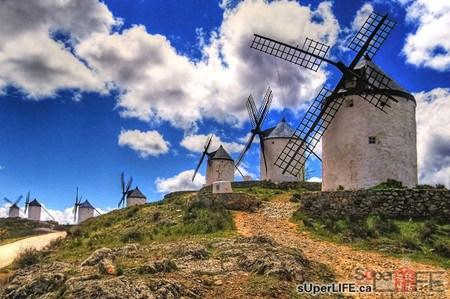 浏览西班牙的风车 景点 旅游_凤凰资讯