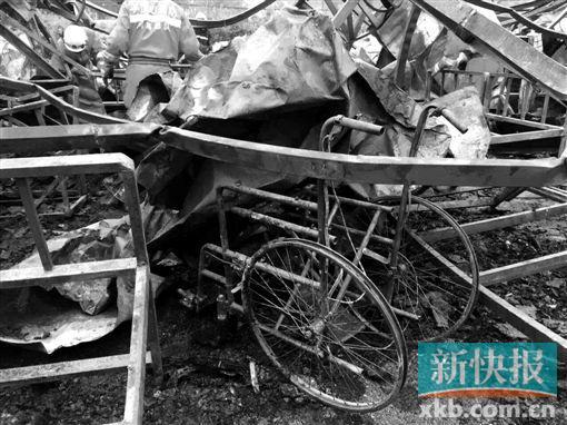 ■火災現場。新華社發