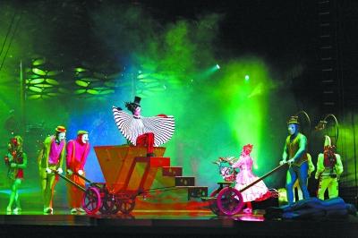 马戏团动物表演节目