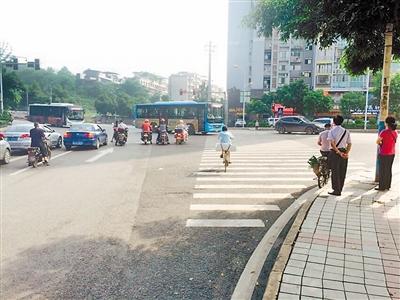 水东门十字路口|直行|红绿灯