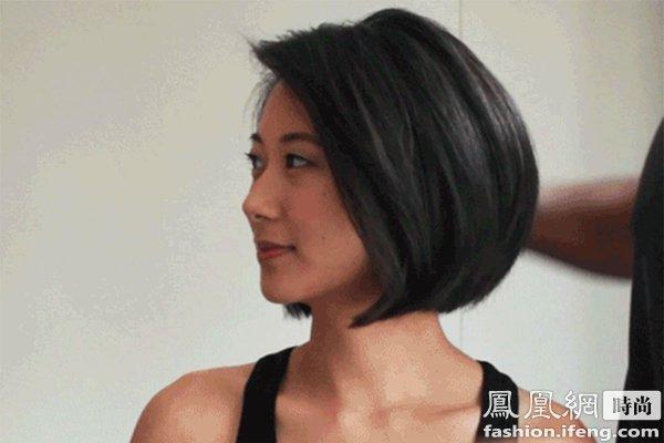 自己在家里用吹风筒也能把洗后没精打采的头发做出