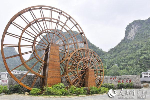 竹子水车制作步骤图解