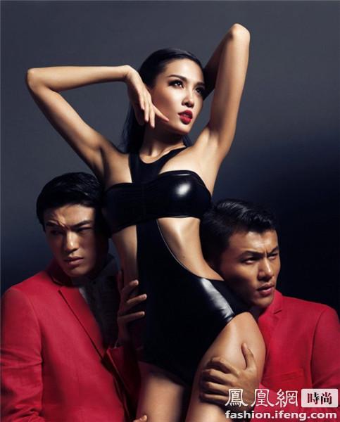 59岁刘晓庆凭什么能登上《男人装》封面?