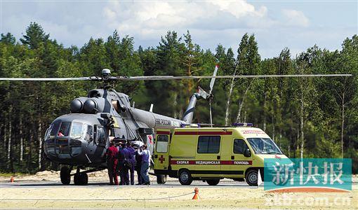 俄直升机表演中坠毁 飞行员死亡|航空|飞机