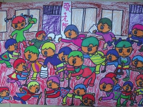 儿童绘画作品展