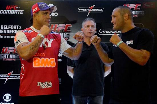 2015年11月8日UFC格斗之夜77 维托VS亨德森(Henderson)三番战[视频]