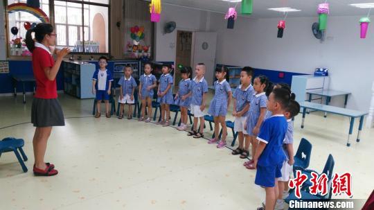 港商返乡创办国际品牌幼儿园:和小朋友一起玩很开心