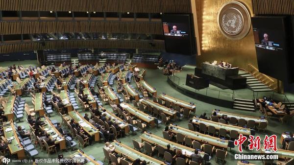 资料图:联合国大会.