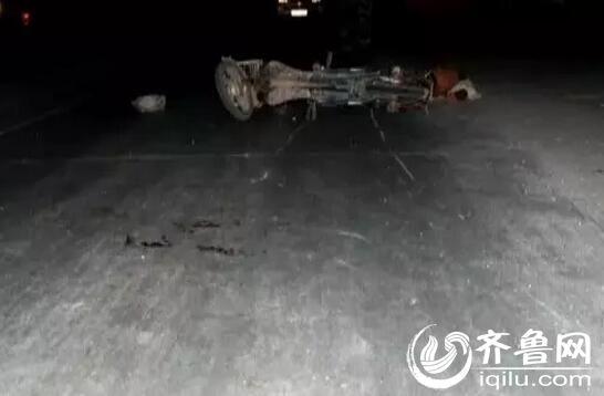 蓬莱 电动车撞行人车主身亡 行人负次责属肇事逃逸
