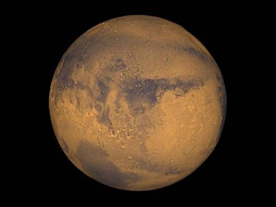 资料图:火星(来源:NASA官网)