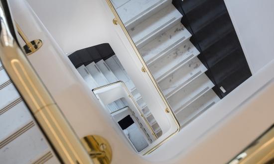 伦敦装修最奢华写字楼:大理石楼梯 镀金洗手间(图