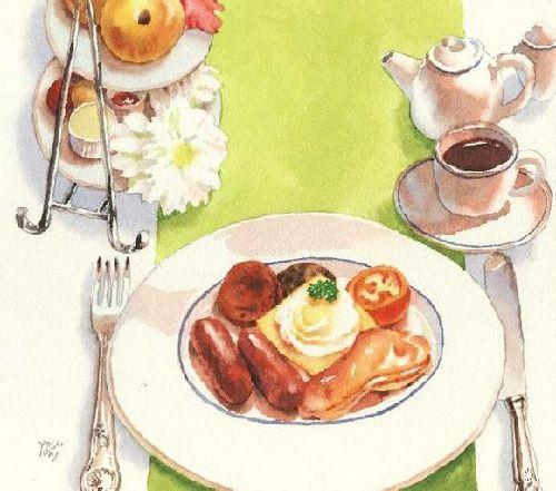 日本手绘美食插画