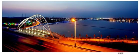"""章丘市绣源河风景区被授予""""全球低碳生态景区""""荣誉称号"""