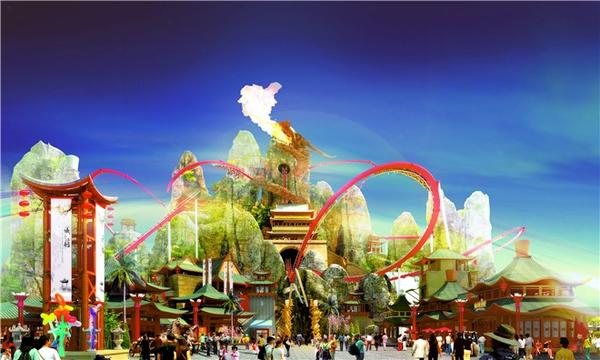 世界,23项游乐水上乐园,大型国际购物中心,6大风情商业街,8大主题美食