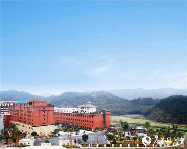 湖南华莱冷市黑茶产业园全貌图