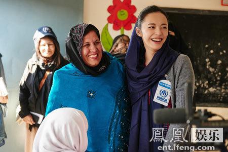 [明星爆料]姚晨走进巴基斯坦 关注阿富汗难民及女童教育问题
