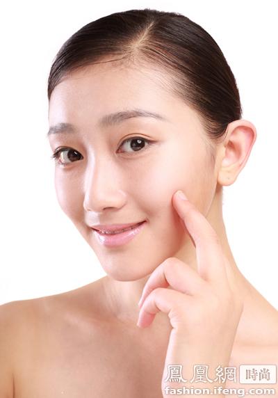 化妆脸卡粉起皮怎么办图片