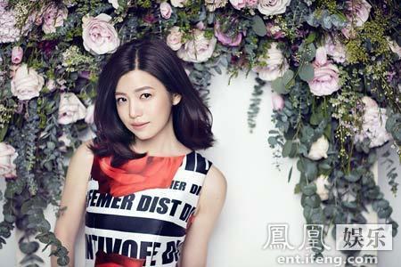 [明星爆料]陈妍希登杂志封面 衣品获知名博主评年度进步最大奖