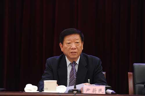 中组部副部长,人社部部长尹蔚民