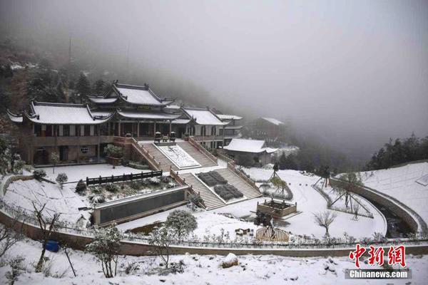 福建宁德寒潮中迎降雪