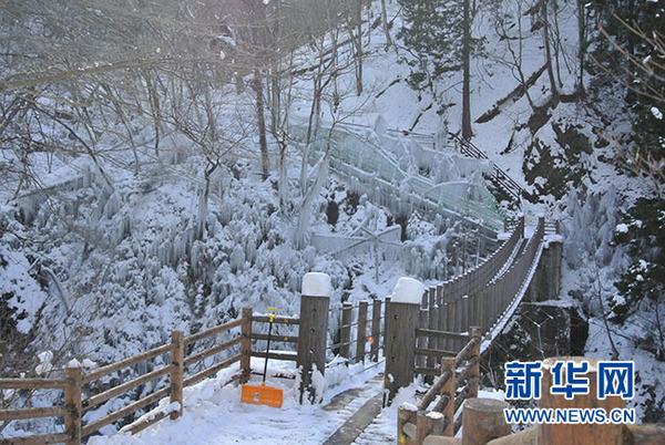 冰柱景觀(方藝曉攝)