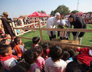 公益传递价值:陕西太古可口可乐公司20年公益路