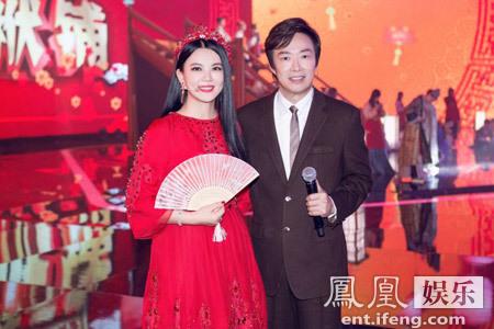 [明星爆料]李湘工作照曝光 合影费玉清显女王范