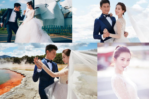 照婚纱照图片_婚纱照风格