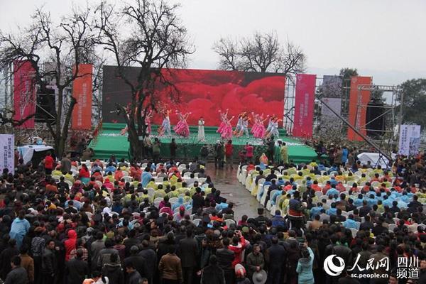2016四川花卉(果类)生态旅游节在四川长宁县拉开帷幕。(图片由长宁县委宣传部提供)