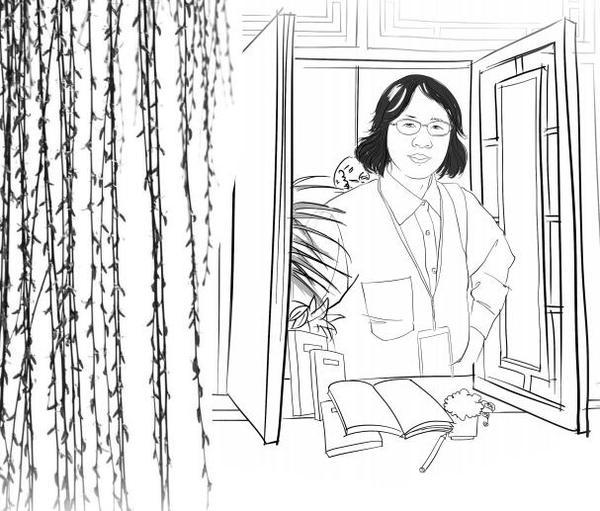 【2019文学诺奖·热门人物】(874)《黑暗地母的礼物》中国女作家:残雪 by Julia