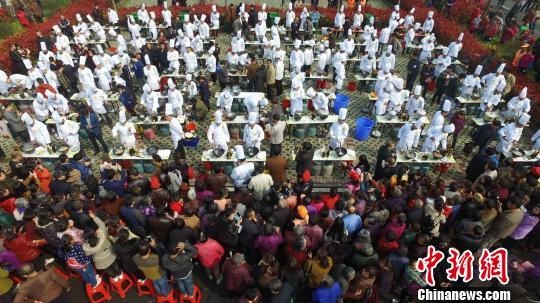 安徽肥东美食节开幕百故里厨师包公余名争香德兴美食节图片