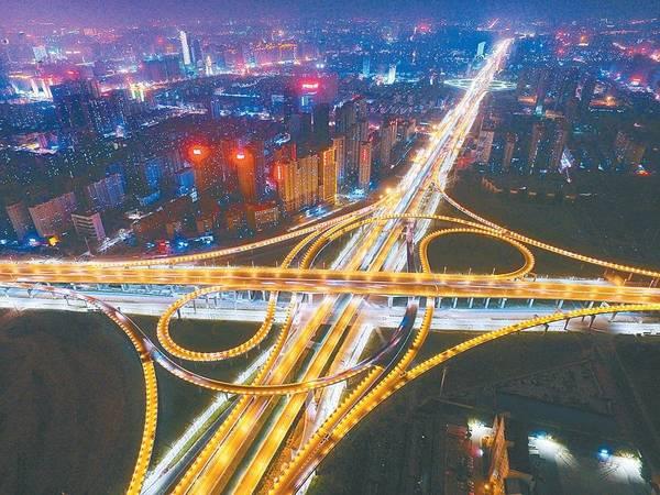 城市立交桥简笔画-高清 俯瞰郑州这些美丽的桥 你认识几座