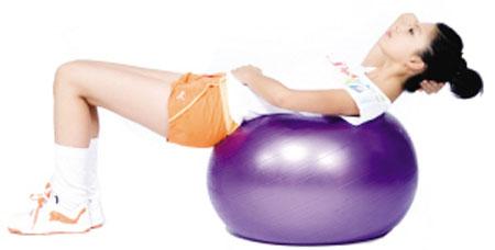 健身球。图片来自网络