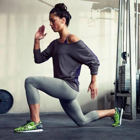 静态健身。图片来自网络
