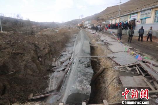 青海大通县青山乡发生一起挡墙倾覆事件 3人遇难图片