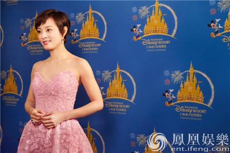 上海迪士尼开园 荣誉大使孙俪最爱唐老鸭:他拯救了我【星看点】