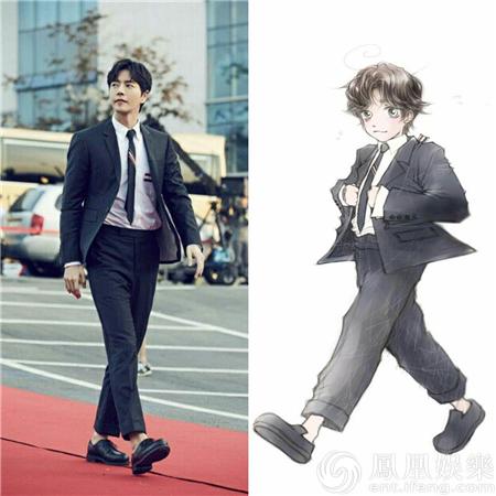 朴海镇粉丝官网招募会员 真人漫画公开受欢迎【有看点】
