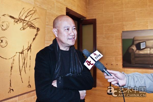 四川美术学院教授叶永青接受艺术中国采访图片