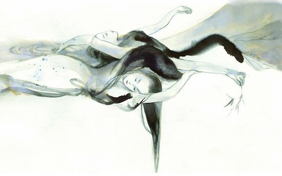 中国百位手绘插画大师的作品风格迥异,动漫手绘不再是凌厉的日本风,或