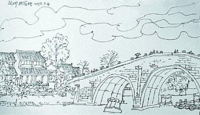 将此行的采风作品集结成集,9月,这本作品集将在杭州开幕的大运河文化图片
