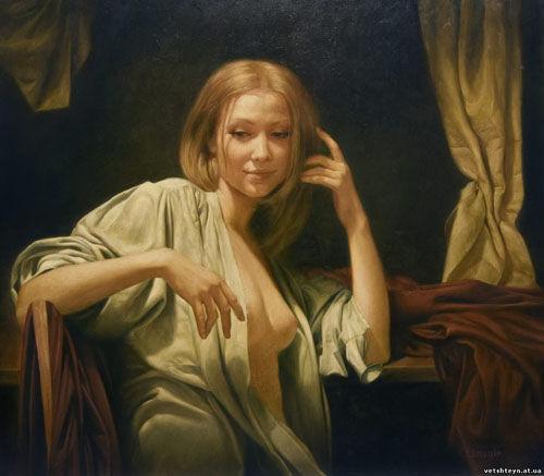 乌克兰大胆人体系艺人图片_乌克兰画家瓦列里.约斯丁人体艺术赏析
