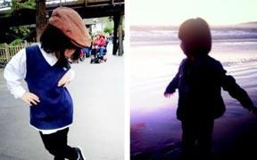 高晓松4岁爱女萌照曝光 潮范儿不逊小苏瑞