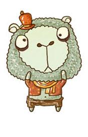 爱吃羊——胆小但善良诚实