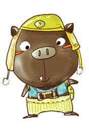 贝勒猪——小气但有梦想