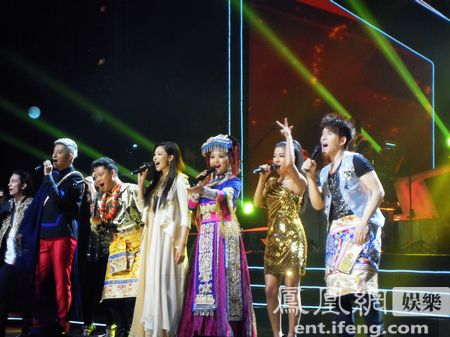 民族歌手演唱会图片