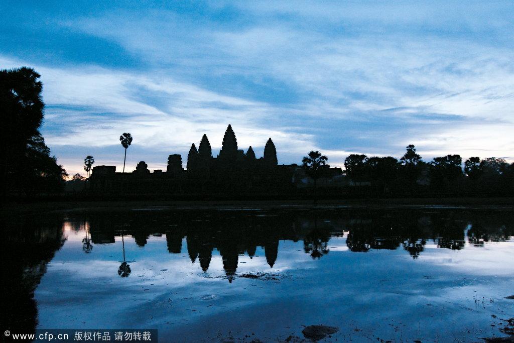 柬埔寨5月旅行游记:通往天堂的路